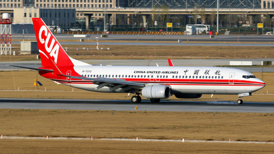 A picture of B7372 - Boeing 73789P - China United Airlines - © yiran
