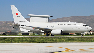 13-002 - Boeing 737-7ES Peace Eagle - Turkey - Air Force