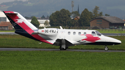 OE-FRJ - Cessna 525 CitationJet 1 Plus - Pink Sparrow