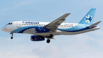A picture of XAMRM - Sukhoi Superjet 10095B - Interjet - © Antonio Velasco (MAS Aviation Press)