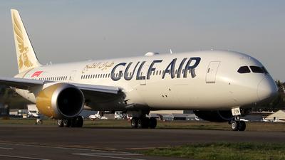 N1789B - Boeing 787-9 Dreamliner - Gulf Air