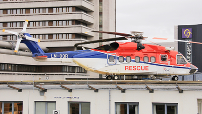 A picture of LNOQR - Sikorsky S92A - CHC Helikopter Service - © Witold Ozimek