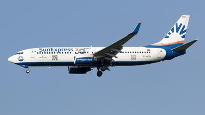 A picture of TCSOO - Boeing 7378AS - SunExpress - © RAFAL KUKOWSKI