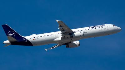 D-AISP - Airbus A321-231 - Lufthansa