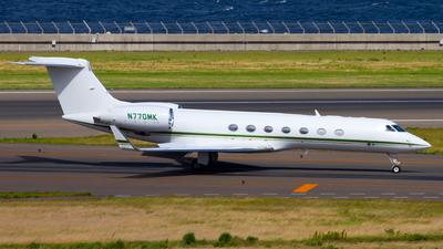 N770MK - Gulfstream G550 - Private