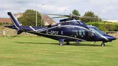 G-GPOT - Agusta-Westland AW-109SP GrandNew - Castle Air Charters