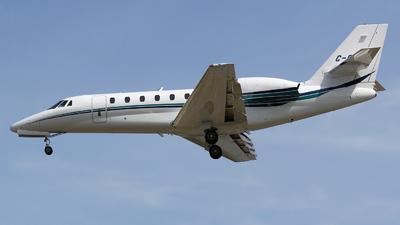 A picture of CGSOE - Cessna 680 Citation Sovereign - Sunwest Aviation - © Sandra
