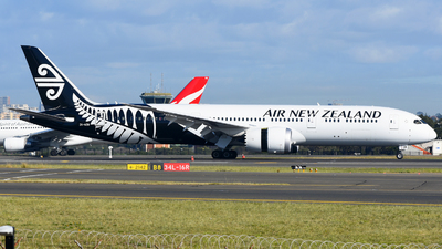 A picture of ZKNZR - Boeing 7879 Dreamliner - Air New Zealand - © JKKW