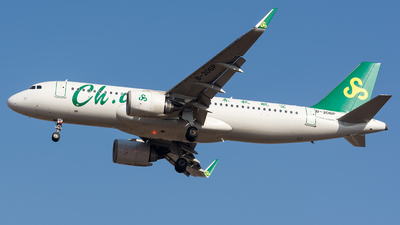 A picture of B306P - Airbus A320251N - Spring Airlines - © BobH