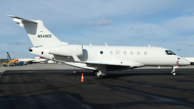 N549EE - Embraer EMB-550 Legacy 500 - Private
