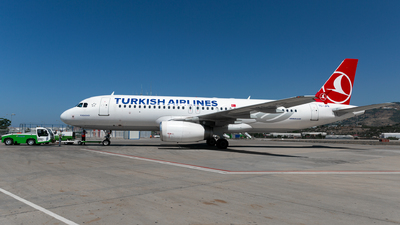 A picture of TCJPR - Airbus A320232 - Turkish Airlines - © Arman Haliloglu