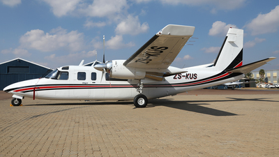 ZS-KUS - Rockwell 690B Turbo Commander - Private