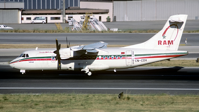 CN-CDV - ATR 42-300 - Royal Air Maroc (RAM)