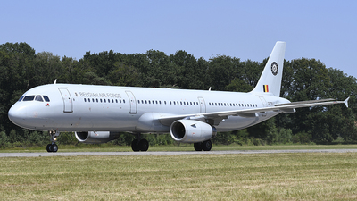 CS-TRJ - Airbus A321-231 - Belgium - Air Force (HiFly)