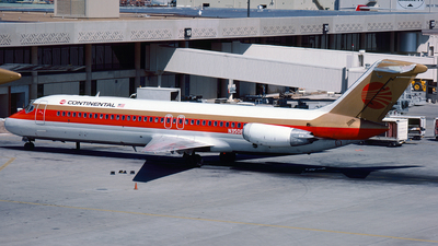 N3508T - McDonnell Douglas DC-9-32 - Continental Airlines