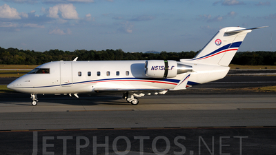 A picture of N515LF - Bombardier CL601 Challenger - [3052] - © Agustin Anaya