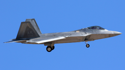 07-4134 - Lockheed Martin F-22A Raptor - United States - US Air Force (USAF)