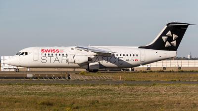 A picture of HBIYV - Avro RJ100 - [E3377] - © Sotos