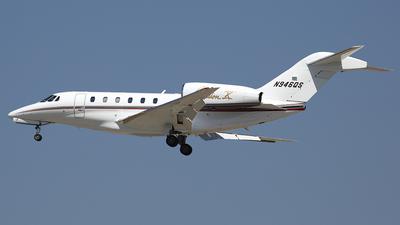 A picture of N946QS - Cessna 750 Citation X - NetJets - © Bruce Leibowitz