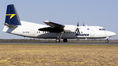VH-FKW - Fokker 50 - Alliance Airlines
