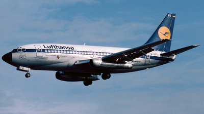 D-ABFU - Boeing 737-230(Adv) - Lufthansa