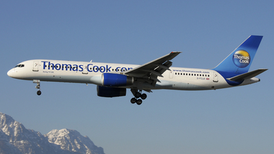 G-FCLB - Boeing 757-28A - Thomas Cook Airlines