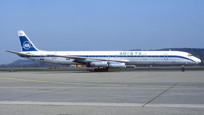 N950JW - Douglas DC-8-63(PF) - Arista International Airlines