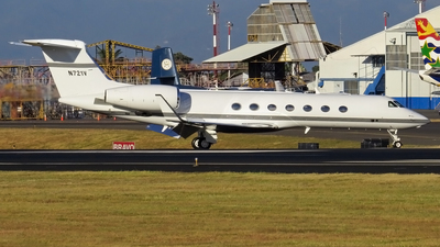 N721V - Gulfstream G550 - Private