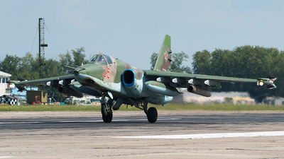 RF-95809 - Sukhoi Su-25SM Frogfoot - Russia - Air Force