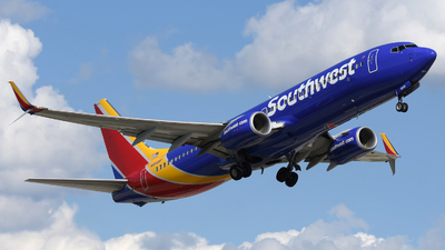 A picture of N8548P - Boeing 7378H4 - Southwest Airlines - © DJ Reed - OPShots Photo Team
