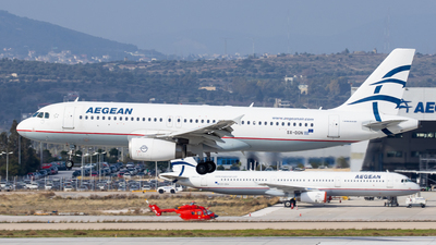 A picture of SXDGN - Airbus A320232 - Aegean Airlines - © Kostas Marmarelis