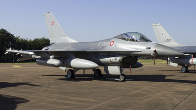 E-018 - General Dynamics F-16AM Fighting Falcon - Denmark - Air Force