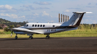 PT-WGS - Beechcraft B200 Super King Air - Brazil - Government of Minas Gerais