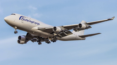 TF-AMF - Boeing 747-412(BCF) - Air Bridge Cargo
