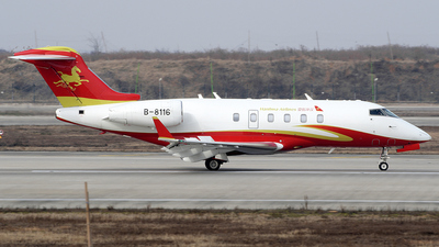 B-8116 - Bombardier BD-100-1A10 Challenger 300 - Hanhwa Airlines