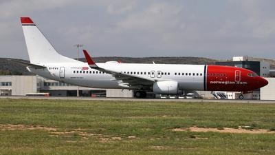 EI-FVV - Boeing 737-8JP - Norwegian
