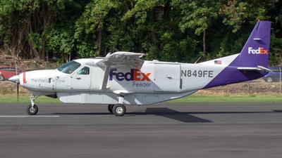 N849FE - Cessna 208B Super Cargomaster - FedEx