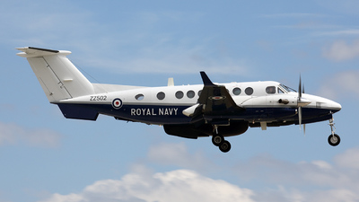 ZZ502 - Beechcraft 350ER Avenger T.1 - United Kingdom - Royal Navy