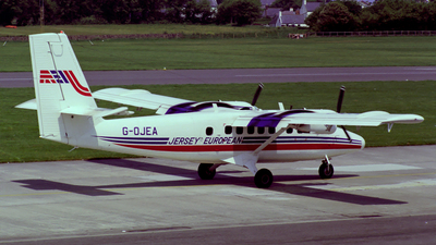 G-OJEA - De Havilland Canada DHC-6-300 Twin Otter - Jersey European Airways