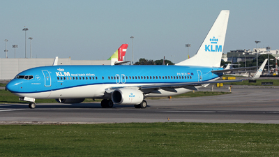 A picture of PHBCH - Boeing 7378K2 - KLM - © luiscspvieira