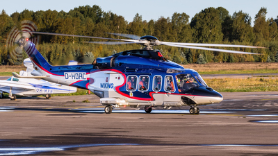 A picture of DHOAC - AgustaWestland AW139 - Wiking Helikopter Service - © MikkoHe