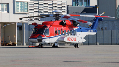 A picture of LNOQQ - Sikorsky S92A - CHC Helikopter Service - © Rrimestad