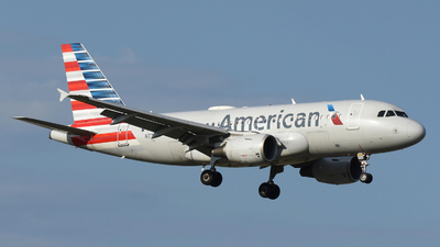 A picture of N772XF - Airbus A319112 - American Airlines - © DJ Reed - OPShots Photo Team