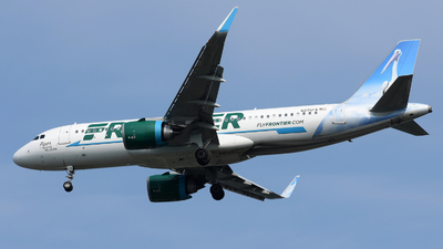 N375FR - Airbus A320-251N - Frontier Airlines