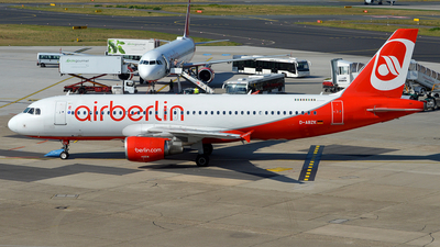 D-ABZK - Airbus A320-216 - Air Berlin