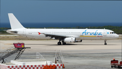 P4-AAI - Airbus A321-231 - Aruba Airlines
