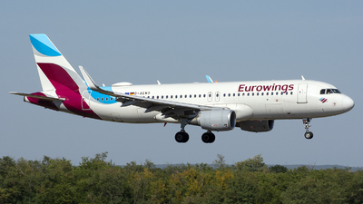 A picture of DAEWO - Airbus A320214 - Eurowings - © András Soós