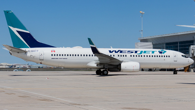 A picture of CGOCD - Boeing 7378CT - WestJet - © Shon F