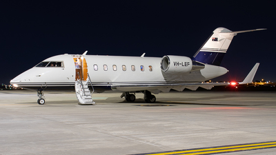 A picture of VHLEF - Bombardier Challenger 650 - [6100] - © Lachlan Boyd