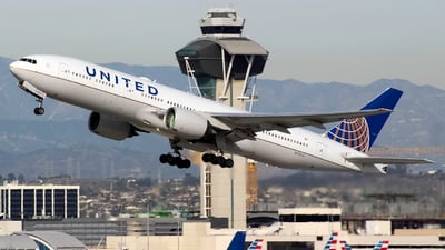 A picture of N797UA - Boeing 777222(ER) - United Airlines - © Andrew Seong